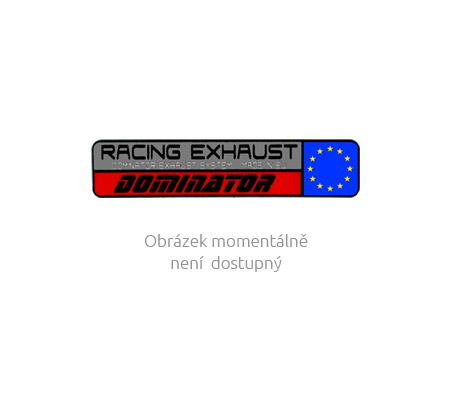 Laděný výfuk DOMINATOR BMW R1200GS 13-14 OVÁLNÁ KONCOVKA