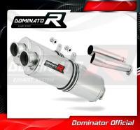 Laděný výfuk DOMINATOR Honda CB900 HORNET 02-07 OVÁLNÉ KONCOVKY