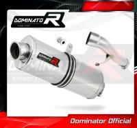 Laděný výfuk DOMINATOR Honda CBF 500 04-05 OVÁLNÁ KONCOVKA