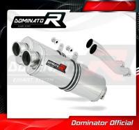 Laděný výfuk DOMINATOR Honda CB 750 92-03 OVÁLNÉ KONCOVKY