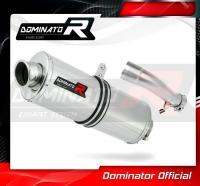 Laděný výfuk DOMINATOR Honda CB500X 13- OVÁLNÁ KONCOVKA