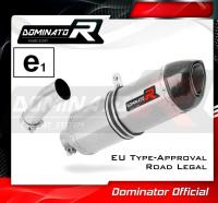 Homologovaný Laděný výfuk DOMINATOR BMW F800GS + Adventure/Trophy E8GS 2008-2012 KONCOVKA HP1 HOMOLOGACE