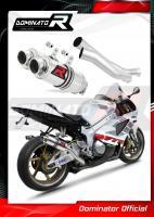 Laděný výfuk DOMINATOR Honda VTR 1000 SP1 00-01 KULATÉ KONCOVKY KRÁTKÉ GP1