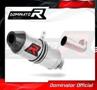 Laděný výfuk DOMINATOR KTM RC 125 17-20 KONCOVKA HP3