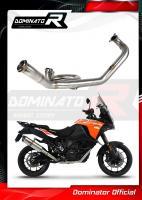 Laděný výfuk DOMINATOR KTM 1290 SUPER ADVENTURE 15-20 SVODY DECAT