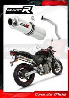 Laděný výfuk DOMINATOR Honda CB 600 f HORNET 98-02 KULATÁ KONCOVKA STANDART