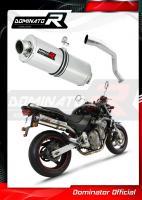 Laděný výfuk DOMINATOR Honda CB 600 f HORNET 98-02 OVÁLNÁ KONCOVKA