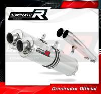 Laděný výfuk DOMINATOR Honda CBR1100XX 96-06 KULATÉ KONCOVKY STANDART