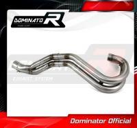 Laděný výfuk DOMINATOR KTM SXF 525 00-03 koleno výfuku