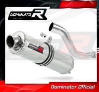 Laděný výfuk DOMINATOR Honda XR 125 L 03-10 KULATÁ KONCOVKA STANDART