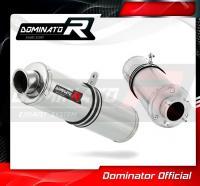Laděný výfuk DOMINATOR Honda CBF 250 04-06 KULATÁ KONCOVKA STANDART