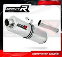 Laděný výfuk DOMINATOR Honda CBF 1000 10-13 OVÁLNÁ KONCOVKA