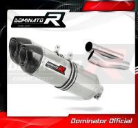 Laděný výfuk DOMINATOR DUCATI MONSTER 900 93-04 KONCOVKY HP1