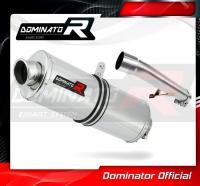 Laděný výfuk DOMINATOR Honda CBF 600 04-13 OVÁLNÁ KONCOVKA
