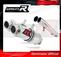 Laděný výfuk DOMINATOR Honda CBR1100XX 96-06 KULATÉ KONCOVKY KRÁTKÉ GP1