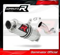 Laděný výfuk DOMINATOR Honda CBR1000RR 14-16 KULATÁ KONCOVKA KRÁTKÁ GP1