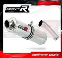 Laděný výfuk DOMINATOR Honda CBR 600 F1 / F2 / F3 KULATÁ KONCOVKA STANDART