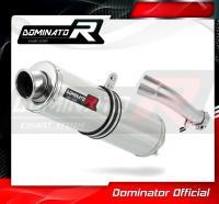 Laděný výfuk DOMINATOR Honda CBR500R 13-15 KULATÁ KONCOVKA STANDART