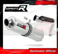 Laděný výfuk DOMINATOR Honda CB 600 f HORNET 03-06 KULATÁ KONCOVKA STANDART