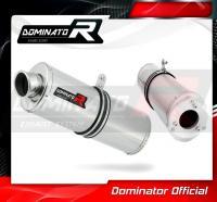 Laděný výfuk DOMINATOR Honda CBR 125 04-10 OVÁLNÁ KONCOVKA