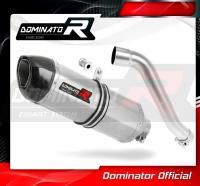 Laděný výfuk DOMINATOR Honda XL 650 TRANSALP KONCOVKA HP1