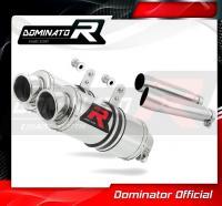Laděný výfuk DOMINATOR Honda CB900 HORNET 02-07 KULATÉ KONCOVKY KRÁTKÉ GP1