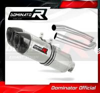 Laděný výfuk DOMINATOR Honda VTR 1000 SP2 02-06 KONCOVKY HP1