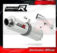 Laděný výfuk DOMINATOR Honda CBF 500 04-05 KULATÁ KONCOVKA STANDART