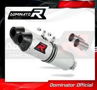 Laděný výfuk DOMINATOR KTM 640 LC4 SUPERMOTO 05-06 KONCOVKY MX