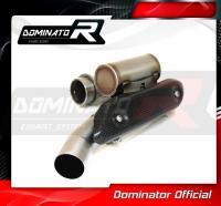 Laděný výfuk DOMINATOR YAMAHA WR450F 03-06 koleno výfuku Power Bomb
