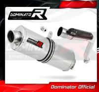 Laděný výfuk DOMINATOR Honda CB 600 f HORNET 03-06 OVÁLNÁ KONCOVKA