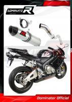 Laděný výfuk DOMINATOR Honda CBR60RR 05-06 KONCOVKA HP2