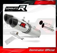 Laděný výfuk DOMINATOR DUCATI 749 02-06 KONCOVKY HP2