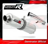 Laděný výfuk DOMINATOR Honda CBF 600 04-13 KULATÁ KONCOVKA STANDART