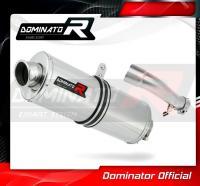 Laděný výfuk DOMINATOR Honda CBR500R 13-15 OVÁLNÁ KONCOVKA
