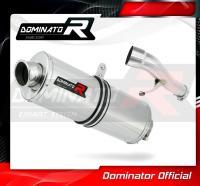 Laděný výfuk DOMINATOR Honda CB500 94-03 OVÁLNÁ KONCOVKA