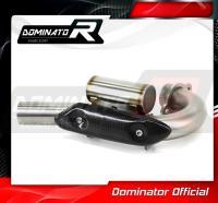 Laděný výfuk DOMINATOR Honda CRF250R 04-05 KOLENO VÝFUKU POWER BOMB