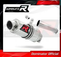Laděný výfuk DOMINATOR Honda CBF 1000 10-13 KULATÁ KONCOVKA KRÁTKÁ GP1