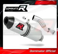 Laděný výfuk DOMINATOR Honda CRF250R 11-13 OVÁLNÁ KONCOVKA MX2