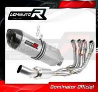 Laděný výfuk DOMINATOR BMW S1000RR 12-14 Kompletní systém kolektor EX koncovka HP1