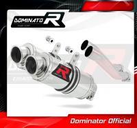 Laděný výfuk DOMINATOR Honda CB 750 92-03 KULATÉ KONCOVKY KRÁTKÉ GP1