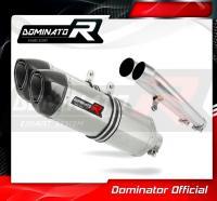 Laděný výfuk DOMINATOR Honda CBR1100XX 96-06 KONCOVKY HP1