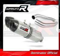 Laděný výfuk DOMINATOR Honda CBR1000F 88-00 KONCOVKY HP1