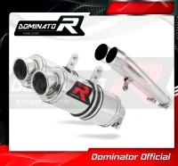 Laděný výfuk DOMINATOR Honda CB1100 X11 KULATÉ KONCOVKY KRÁTKÉ GP1