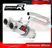 Laděný výfuk DOMINATOR Honda VTR 1000 SP2 02-06 KULATÉ KONCOVKY KRÁTKÉ GP1