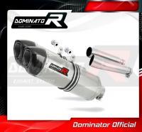 Laděný výfuk DOMINATOR Honda CB900 HORNET 02-07 KONCOVKY HP1