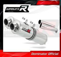 Laděný výfuk DOMINATOR Honda CB900 HORNET 02-07 KULATÉ KONCOVKY STANDART