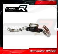 Laděný výfuk DOMINATOR KTM SXF 250 11-12 koleno výfuku POWER BOMB