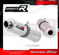 Laděný výfuk DOMINATOR Honda CBR 125 04-10 KULATÁ KONCOVKA STANDART