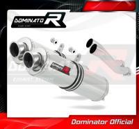 Laděný výfuk DOMINATOR Honda CB 750 92-03 KULATÉ KONCOVKY STANDART